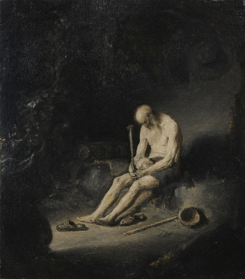 Jan Livens. Saint Jerome in solitude