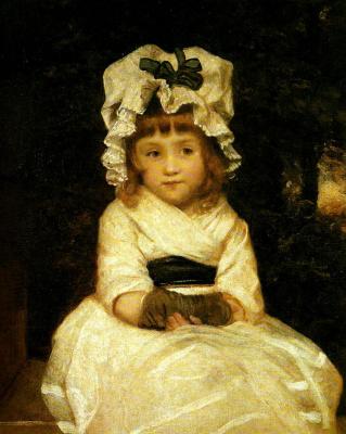 Joshua Reynolds. Portrait of Penelope Boothby (Cap)