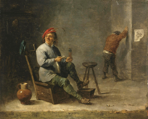 David Teniers the Younger. Smoker
