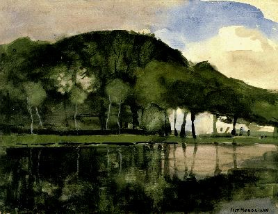 Piet Mondrian. Along The Amstel