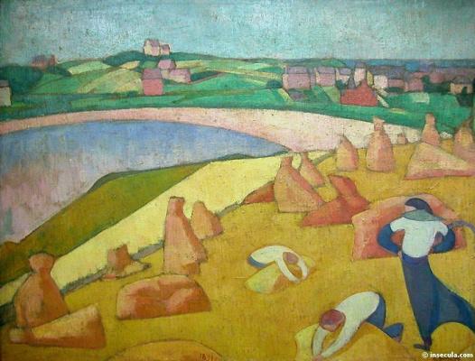 Emil Bernard. Field
