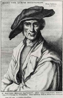 Венцель Холлар. Портрет Ханса фон Церса