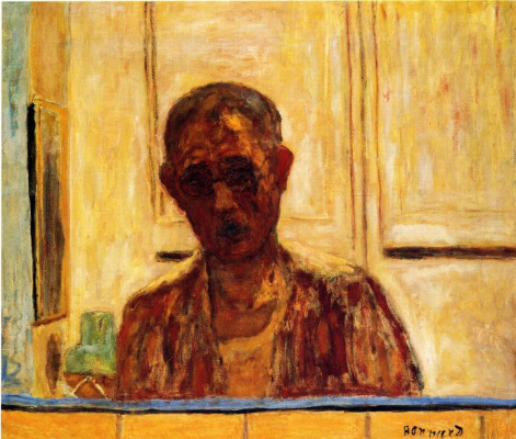 Pierre Bonnard. Self-portrait