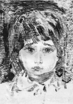 Арби Абдул-Каримович Рассуханов. Портрет мальчика
