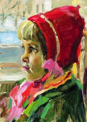 Андрей Владимирович Хан. Девочка в кашпо