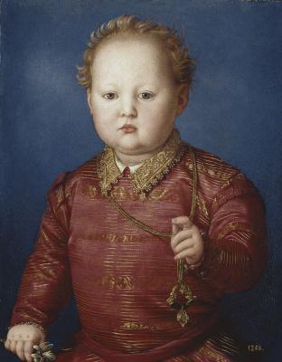 Agnolo Bronzino. Don Garcia de Medici