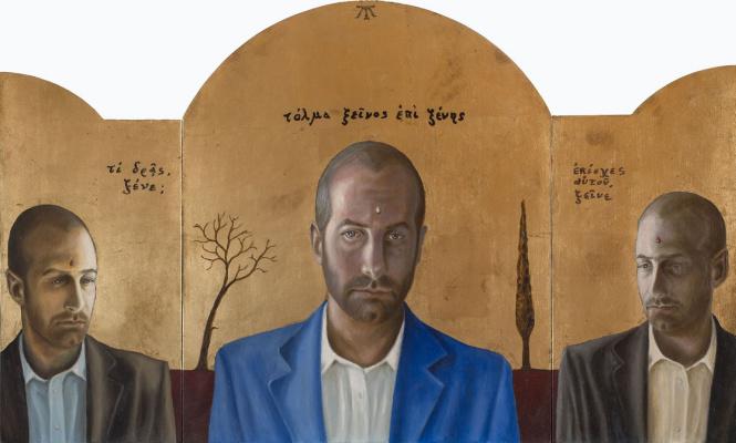 Tito Marchi (Marcy). Triptych