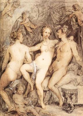 Хендрик Гольциус. Венера между Церерой и Вакхом