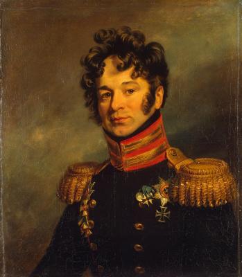 George Dow. Portrait Of Pyotr Alexandrovich Chicherin