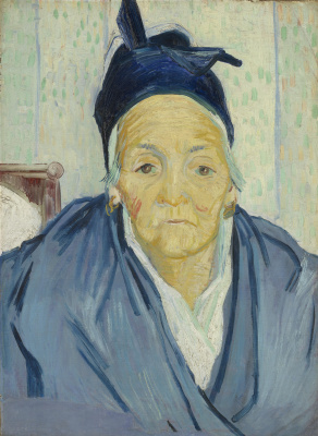 Portrait of an elderly woman from Arles