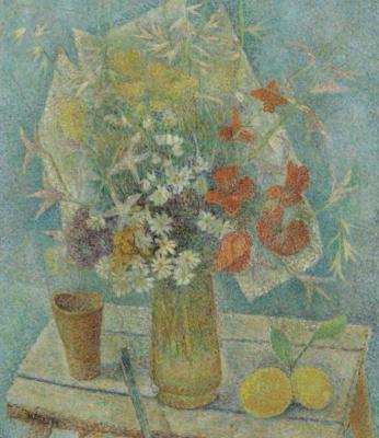 Мария Брониславовна Маревна (Воробьева-Стебельская). Натюрморт с цветами