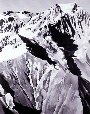 Gerhard Richter. The Himalayas