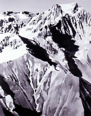Gerhard Richter. The Himalayas