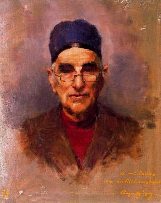 Каэтано де Аркер Буигас. Мужчина в очках