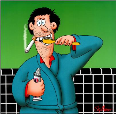 Перейти Морроу. Радость от курения