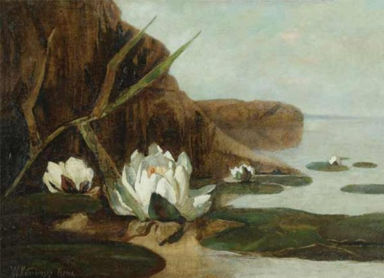 Wilhelm Kotarbinsky. Water lilies