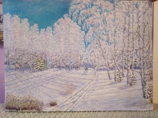 Vladimir Mikhailovich Korovin. Winter