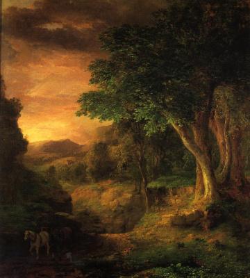 George Innes. In Berkshire