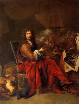 Nicola de Larzhiler. Charles Lebrun, painter to the king