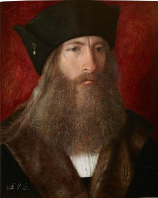 Михель Зиттов. Портрет мужчины с жемчужиной