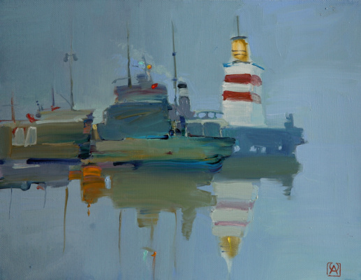 Alexander Valerievich Sushchin. Fog.