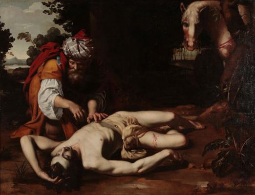 Unknown artist. The merciful Samaritan