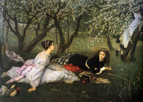 James Tissot. Spring
