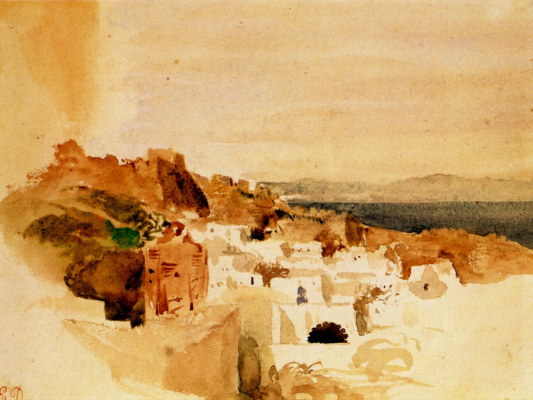 Eugene Delacroix. Views of Tangier