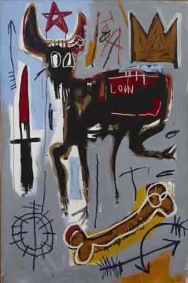 Jean-Michel Basquiat. Loin