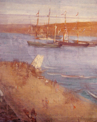 James Abbot McNeill Whistler. The next morning, after the revolution, Valparaiso