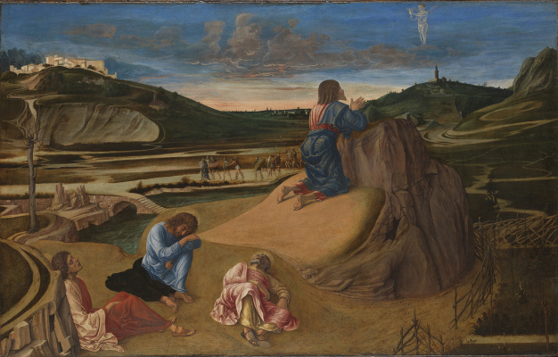 Giovanni Bellini. The agony in the garden: Praying for the cup