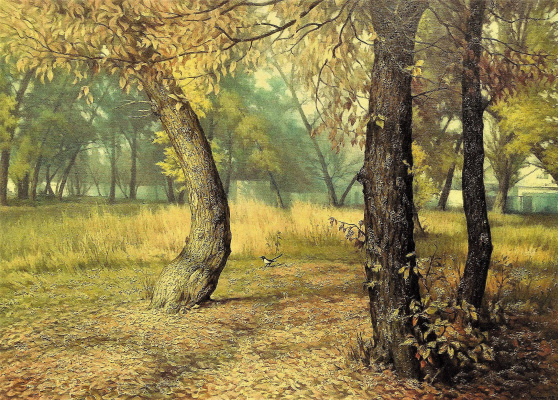 Александр Владимирович Кусенко. Leaf fall