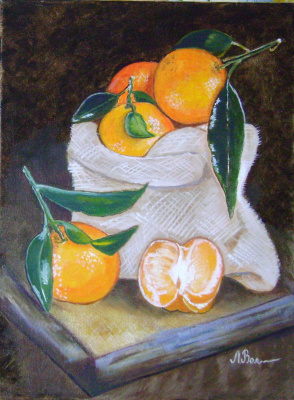 Любовь Викторовна Волобаева. Oranges