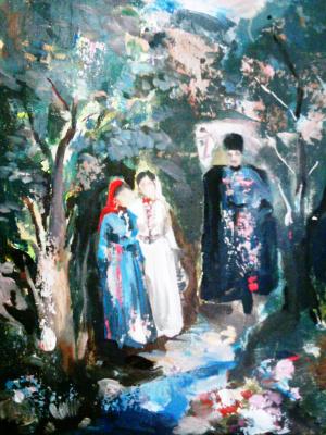 Арби Абдул-Каримович Рассуханов. Кавказ