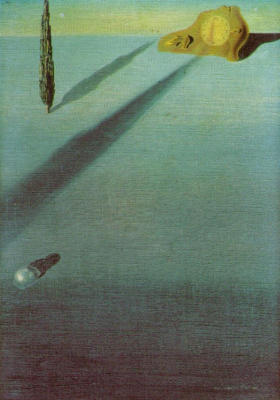 Salvador Dali. The feeling of speed