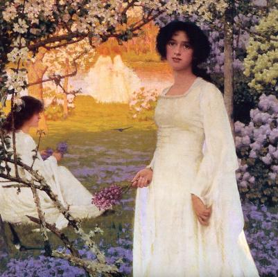 Arthur Herbert Buckland. Spring