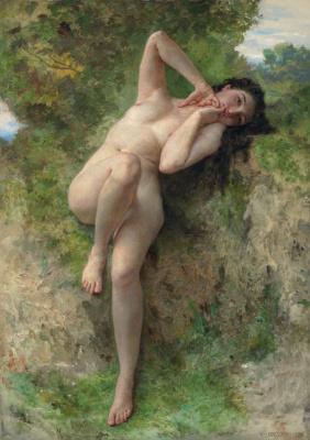 William-Adolphe Bouguereau. Dryad
