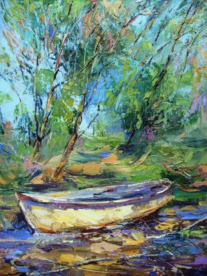Konstantin Leonidovich Antipov. White boat