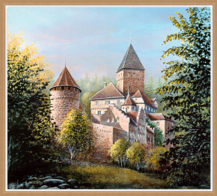 Карл Иллини. Замок