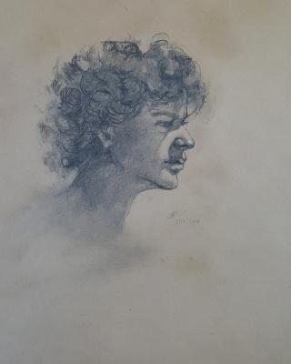 Sasha Latypova. Portrait of the son