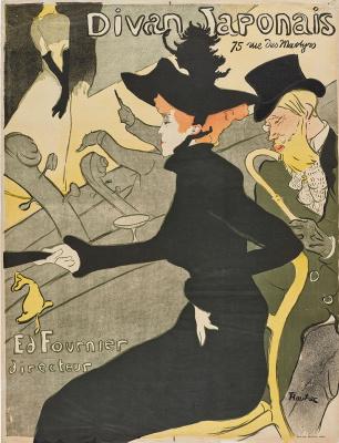 Henri de Toulouse-Lautrec. Divan Japonais
