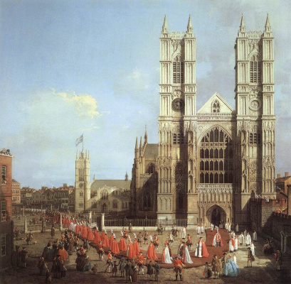 Giovanni Antonio Canal (Canaletto). Westminster Abbey