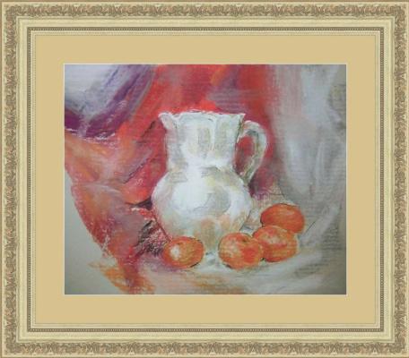 Evgeniya. Milkman and tangerines