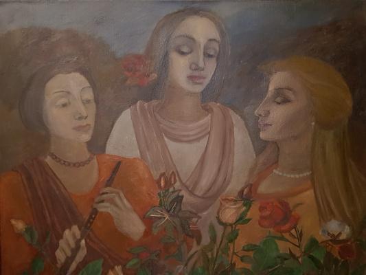 Tatiana Mykolaivna Motherland. Three sisters