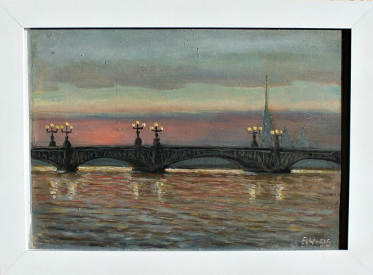 Victor Andreevich Chepurko. The memory of St. Petersburg