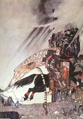 Кей Нильсен. Иллюстрация к  сказке  На восток от солнца, на запад от луны 24