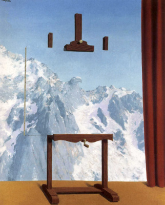 René Magritte. The call of the peaks