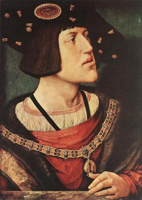 Bernart Van Orley. Portrait Of Charles V