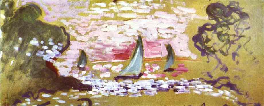 Henri Matisse. Sailboats
