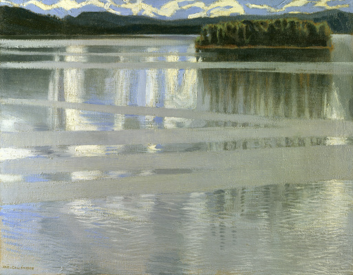 Axeli Valdemar Gallen-Kallela. Lake keitele